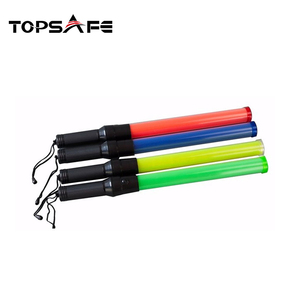 Unique design factory directly sale portable flashing traffic baton traffic security baton