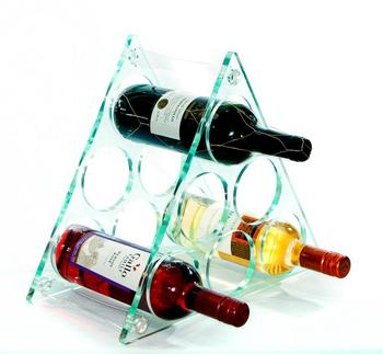 High Quality Desktop Acrylic Wine Rack