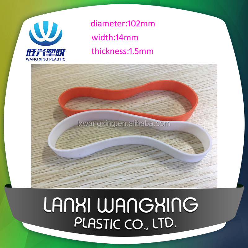 Extra Wide Large size Rubber Band for packing and industrial