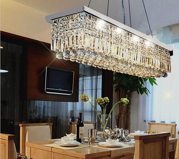 Unique Rectangular Dining Room Chandeliers: Free-shipping-2014-NEW-Modern-Crystal-Chandelier-for