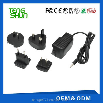 9v Dc Power Adapter Supply 1a