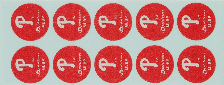 Phiten MLB Authentic Titanium Discs, Philadelphia Phillies, 30 Discs