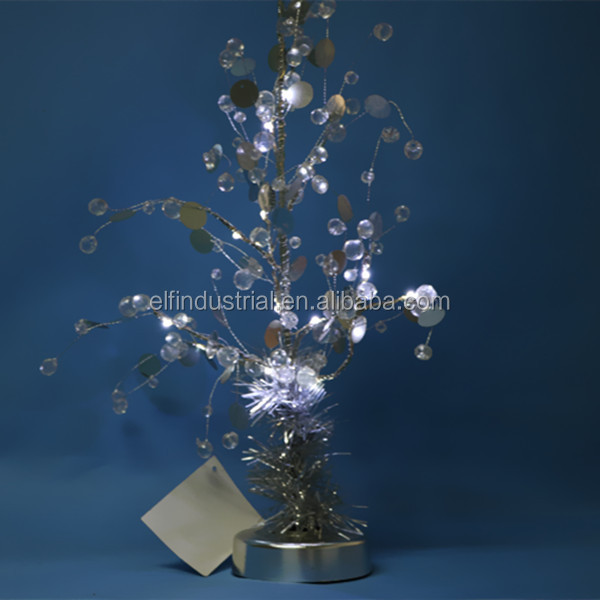 wholesale christmas decorations indoor led artificial iron christmas tree