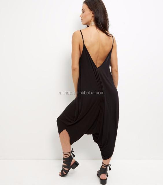 Nouveau Femme Imprimé Baggy Hareem Cami Lagenlook Ange Drapé Style Combinaison 8-14