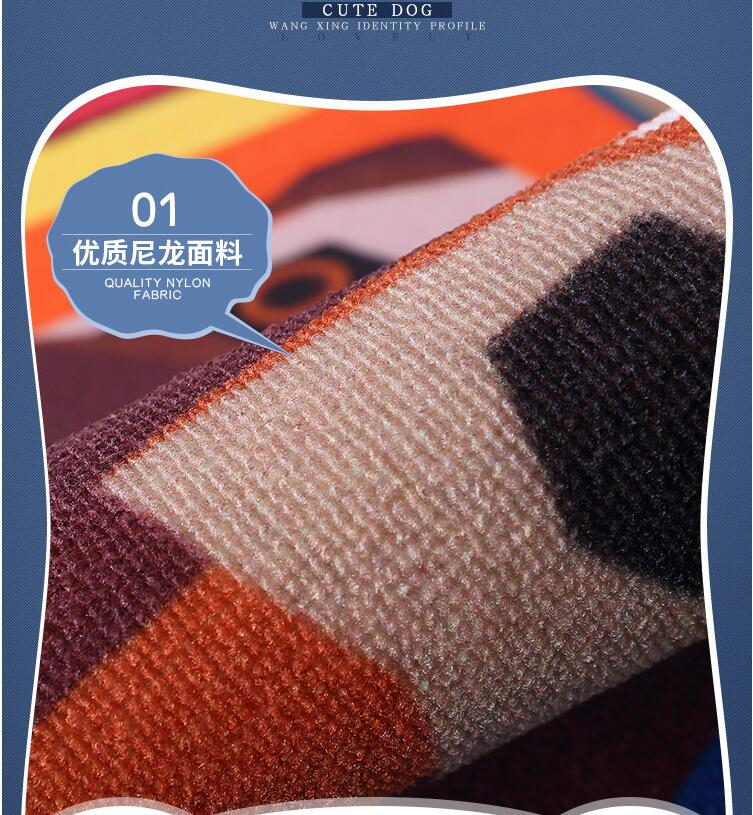 HOT Dog Print Carpet Tapete Strip Floor Mat Absorbent Door Non-slip Mats  Bedside Blanket For Kitchen Bathroom Room Alfombras - us310 944e272db41