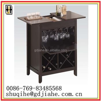 Mdf Side Cabinet Black Decor Wine Used Horizontal Cooler