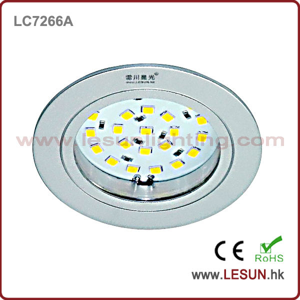 Recessed 2W 12V led cabinet light/ceiling spotlight LC7266A