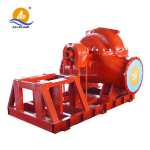big horizontal centrifugal double suction 10w water pump