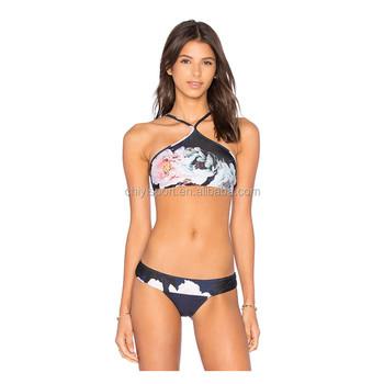 With you beach bikini mini