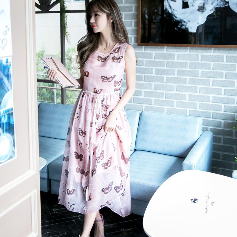 2018 fashion dresses suits for women no minimum korea designs female garment casual dress korean