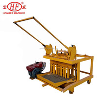 HFB533E diesel engine block and brick making machine,egg laying machine,ecological brick
