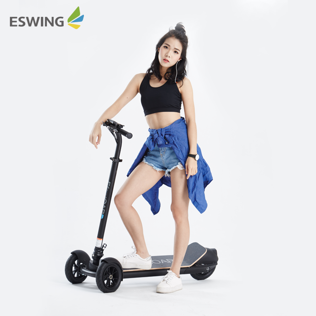 2019 Cheap Price 500w Silent Hub Motor 8.5 Inch Fat Tire Cycleboard Electric Scooter for Sale, Five fashion color to choose