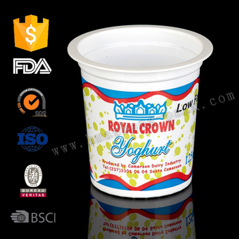 4.5oz Plastic Yogurt cup,disposable plastic cups