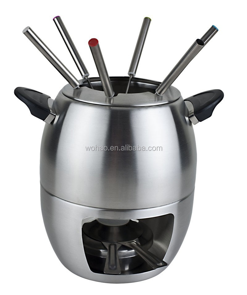 Hot sale stainless steel cheese fondue