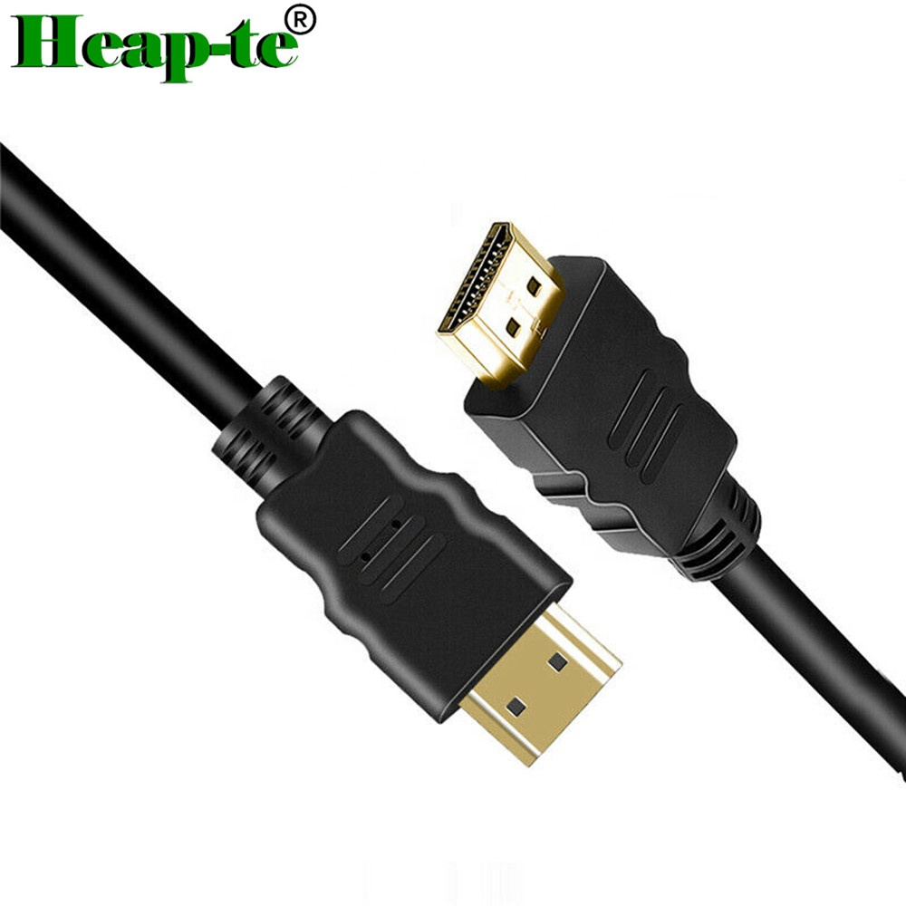 Computer Cables & Connectors Hot Sale Hdmi Data Extension Cable Male To Female Black With Screw Panel 1.4version 50cm Hd 1080p For Psp Hdtv Vedio Tv Pc