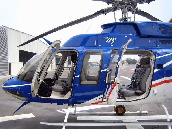 Helicopter Bell 407 Vip