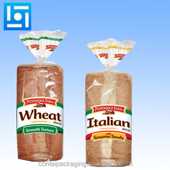 food grade bags plastic bread bags for homemade bread