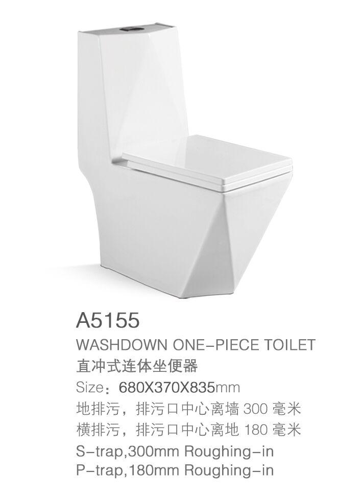 Hot bán s/p trap washdown một mảnh gốm phòng tắm nhà vệ sinh với giá thấp