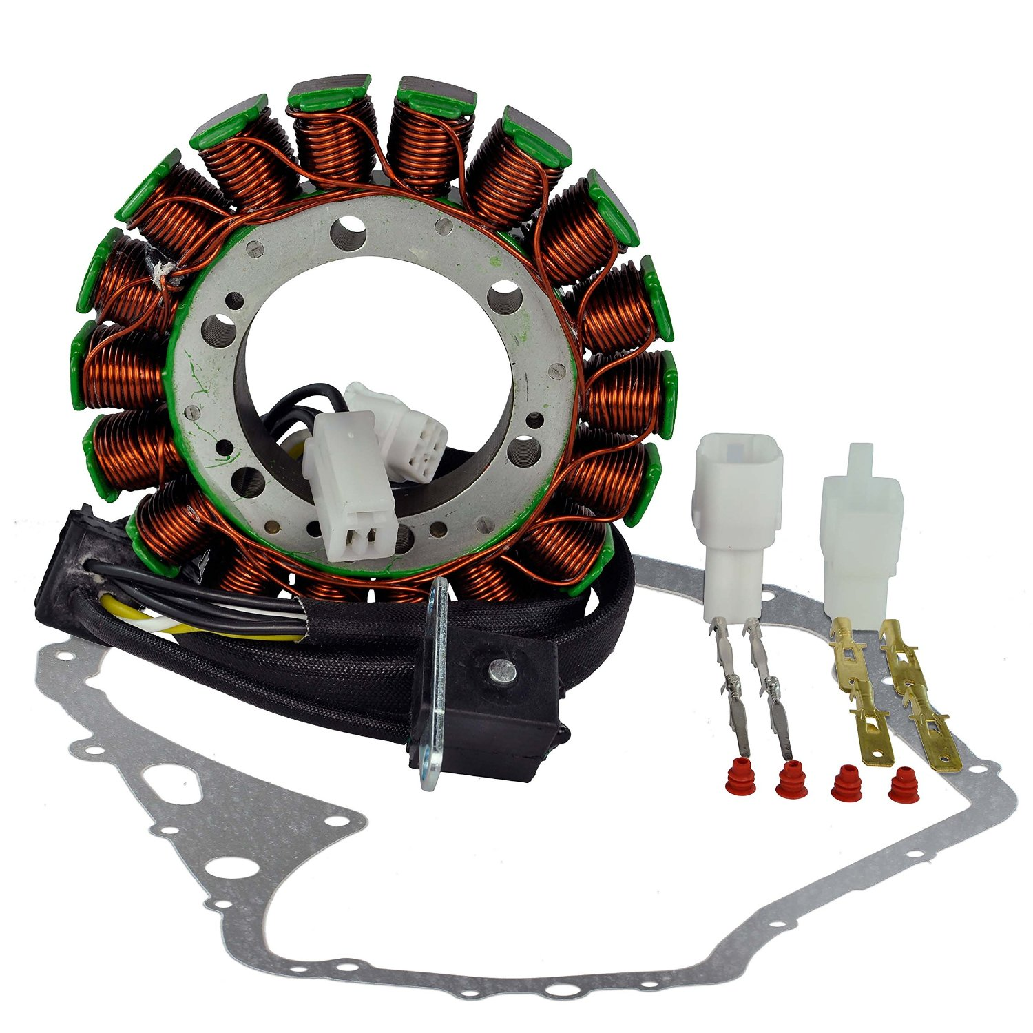 Cheap Arctic King Manual Find Deals On Line At 1998 Cat Jag 440 Wiring Diagram Get Quotations Kit Stator Crankcase Cover Gasket For Suzuki Ltf 400 Eiger