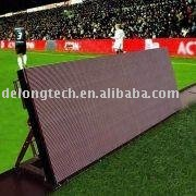 5X1m P16 football led display advertising outdoor full color video mobile led billboard