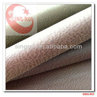 pu leather for man shoe materials leather