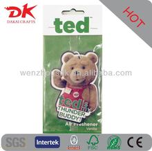 High quality car air freshener/Pure and fresh paper air freshener