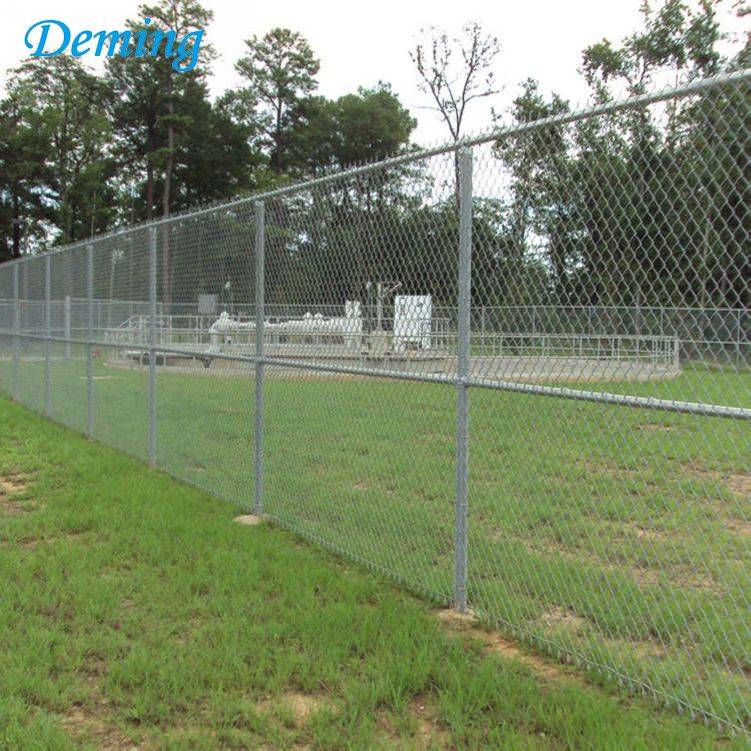 High Quality Hot Dip Galvanized Used Chain Link Fencing for Sale
