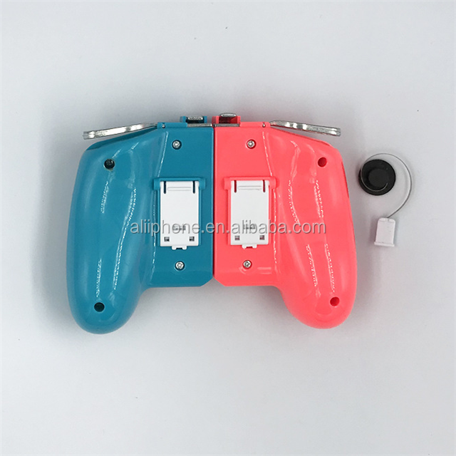 2020 hot sale android wireless gamepad ak16 with joystick game handle for pubg triggers