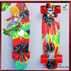 Tie Dye Skateboards Graphic 22 Retro Style Longboard Cruiser Mini Long skate board Complete