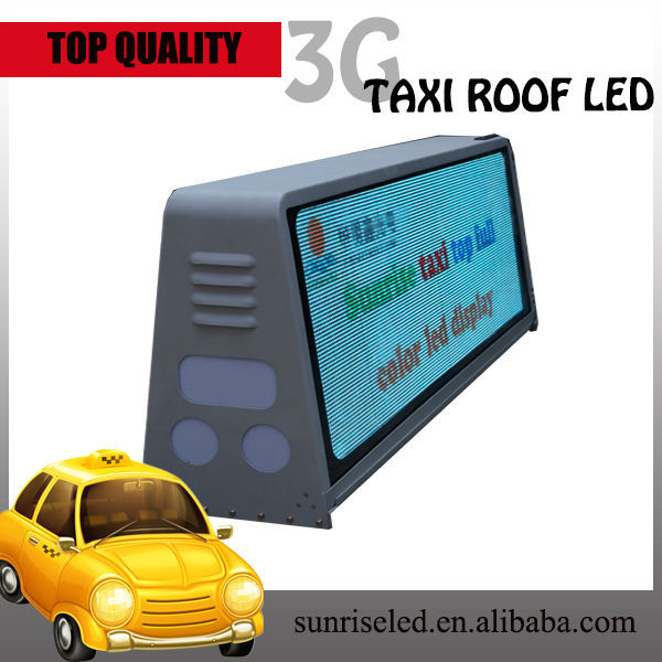 wholesale alibaba express moving advertising p6 wireless advertising digital roof top led advertising screens for cars