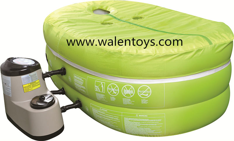 Eco-friendly PVC inflatable spa pool different size available