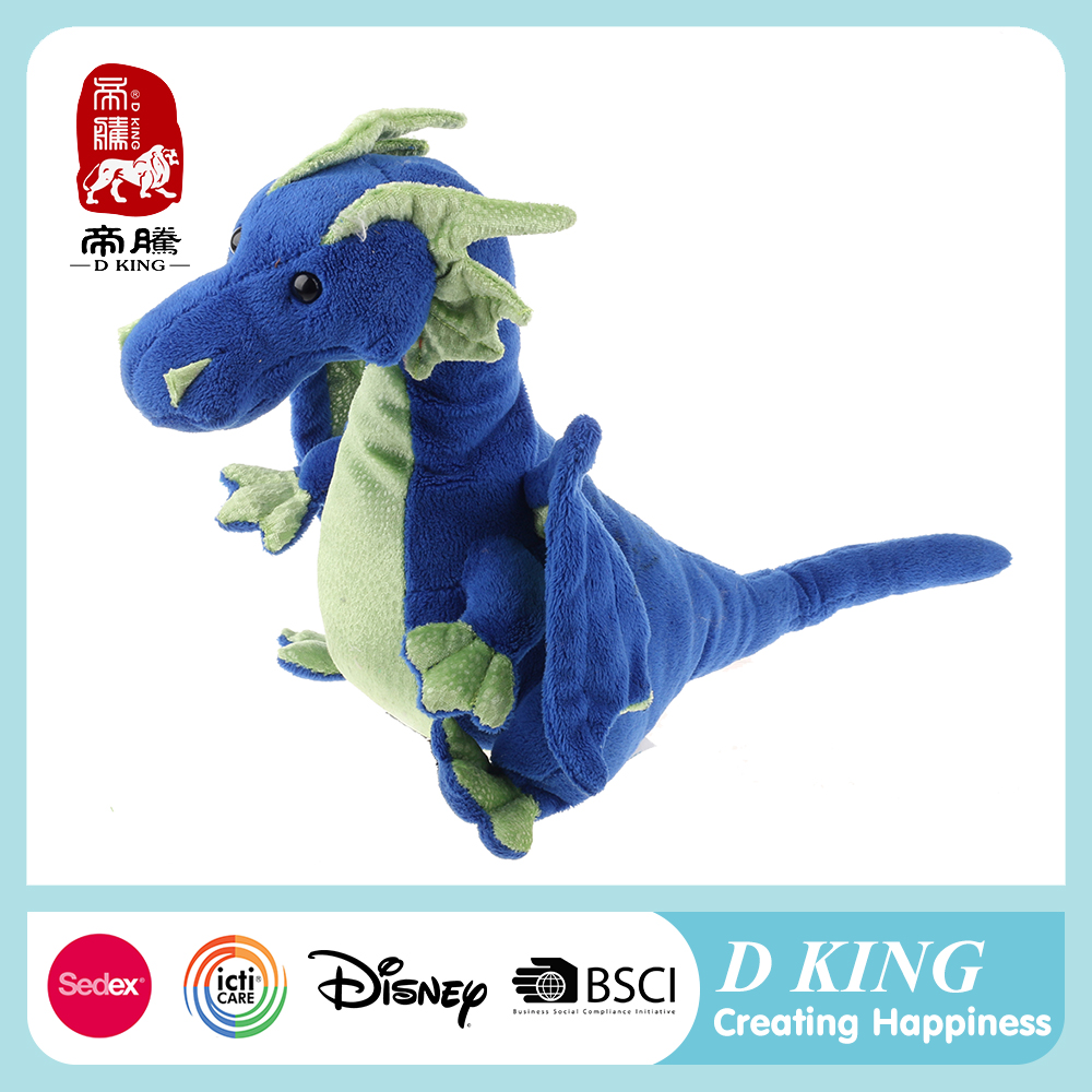 Custom Plush Soft toy dragon Stuffed animal wholesale supplier from China