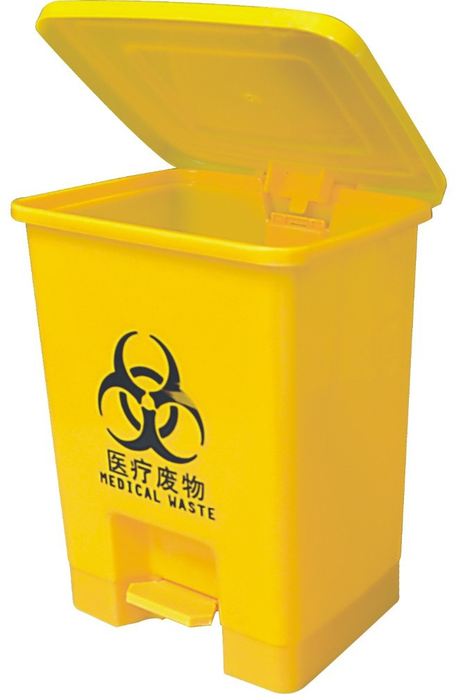 Medical Waste Bins Garbage Can Eco-friendly Plastic Container ...