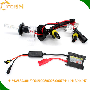 Sample available single dual beam hid kit h1 h3 h4 h11 9005 9006 9007 12v 24v 35w 55w 75w car motorcycle hid xenon d1s 55w