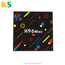 Newest RK3328 Quad-Core android 7.1 tv box H96 max smart tv box