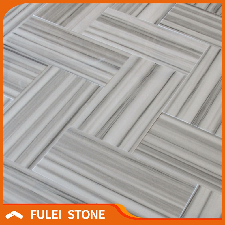 Free Sample Polished Natural Equator Marmara White Marble Flooring Tiles