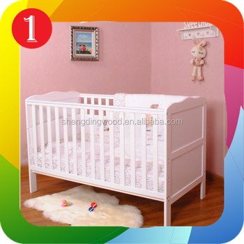 Euro UK classic wood baby bed,baby cot, baby crib, View ...