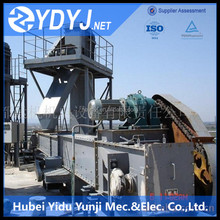 Professional chain conveyor and bucket elevator combination hanging conveyor system