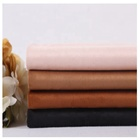 105D*105D100 polyester faux double sided suede fabric price per meter