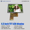 touch screen 4.3inch tft lcd screen 480*272 vehicle electronics display