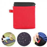 Waterproof Outdoor Blanket Picnic Beach Blanket Mini Pocket Portable Folding Mat