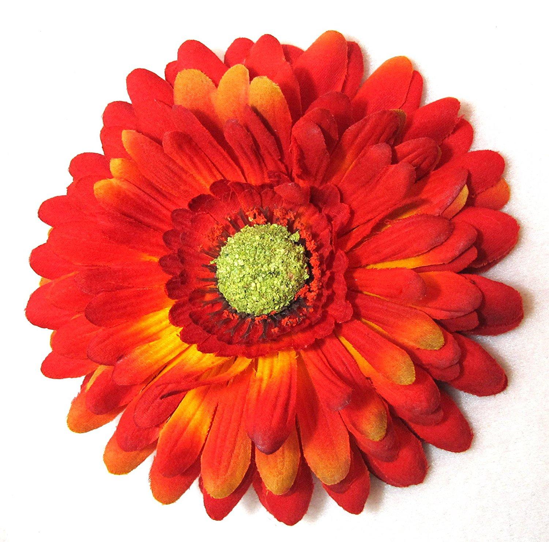 Buy Large Bold Orange Daisy Hair Flower In Cheap Price On Alibaba