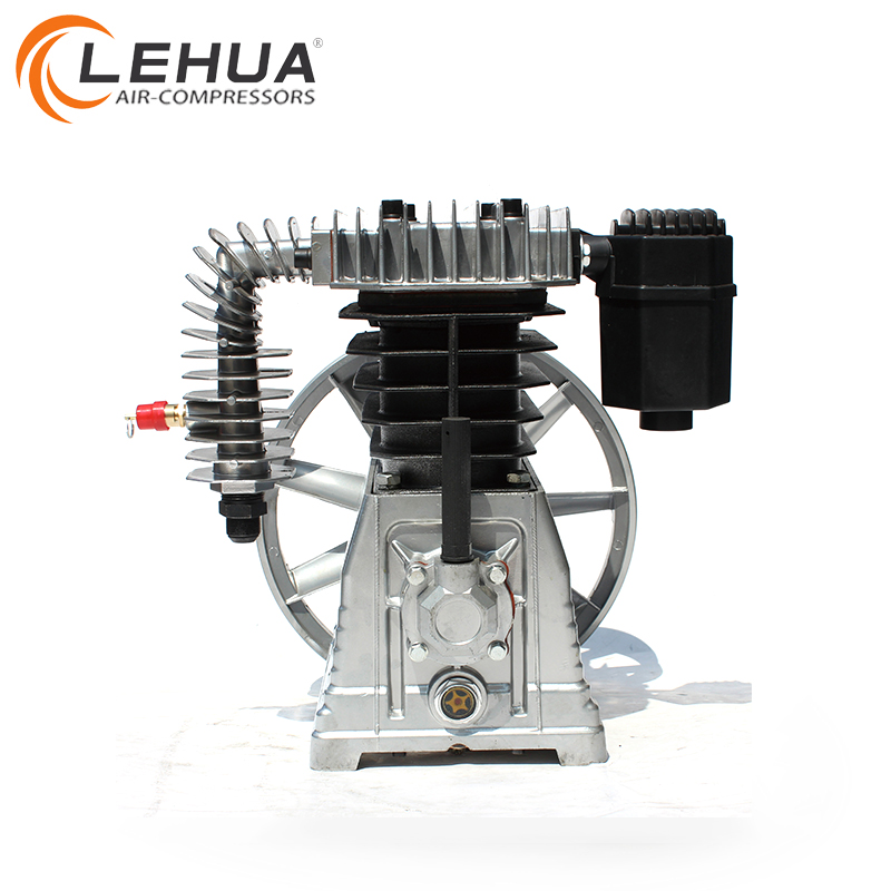 4kw 5.5hp belt driven piston aluminium air pump