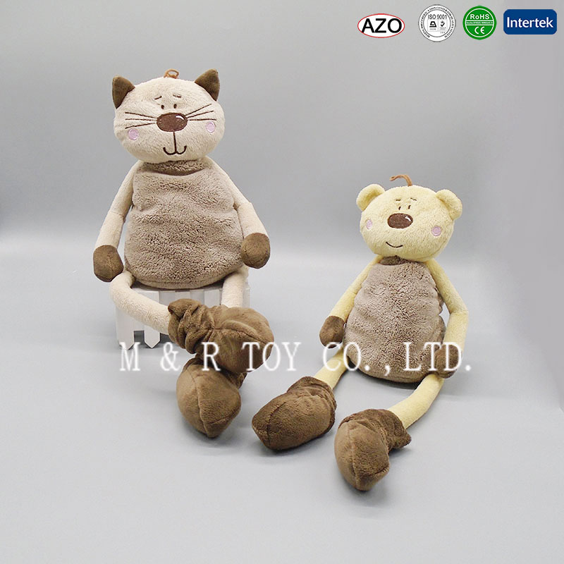 Grey Cat plush kitty toys stuffed <strong>animals</strong> in 22cm