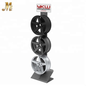 MX-MCA063 freestanding metal material wheel rim display rack