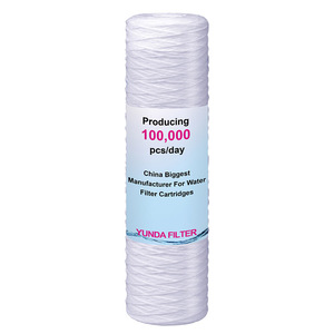 PP Sediment String Wound Water Filter Cartridge 20inch