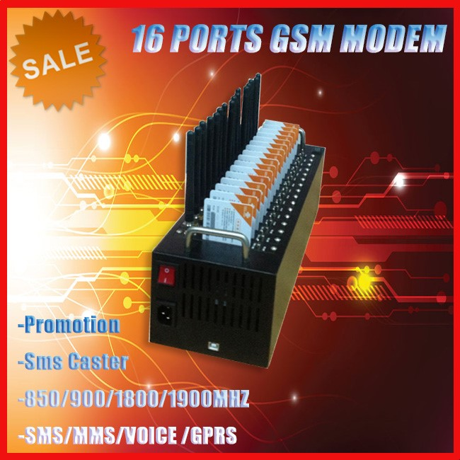 Hot Sale SMS Gateway 8 16 32 64 Saluran GSM 2G 3G 4G Massal GSM Modem SMS 64 Port