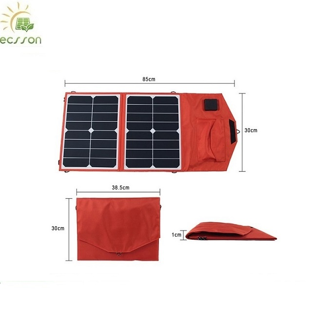 China high efficiency waterproof 5V 2.1A 30W solar power panel for tablet PC