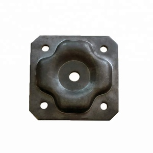high quality scaffolding base jack sole plate