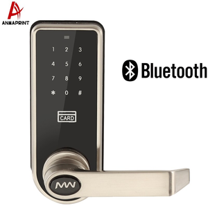 Auto Door Lock >> Interlock Connecting Lock Bluetooth Auto Door Lock